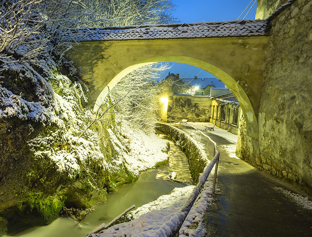 Brasov - Graft Canal – in Winter