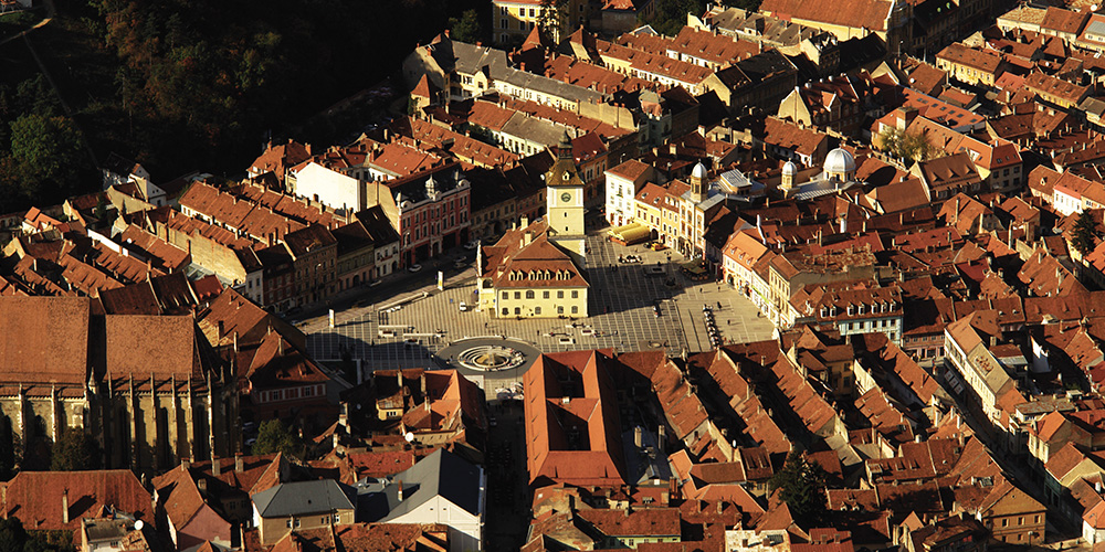 Brasov - The historical centre of Brasov City
